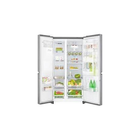 LG Side by Side hűtőszekrény 601 l